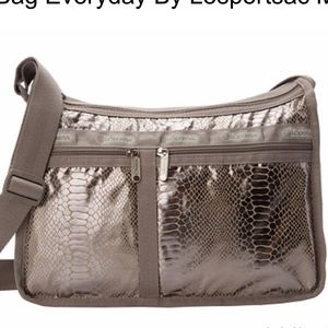 LeSportsac Deluxe Everyday Bag Magnetic Snake